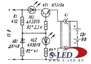 Схемы Схема зарядного устройства ЗУ-120М.  Каталог электрических...