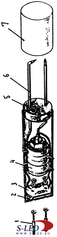 Схема электронной зажигалки