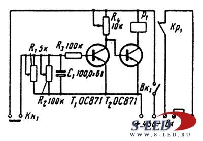 схема сигналов ваз 2107 элект