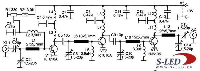Генератор газель схема подключения.  Самодельный металлоискатель радиолюбительская схема выполняемый на доступной...
