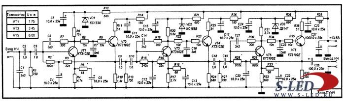 полевых транзисторах КП903