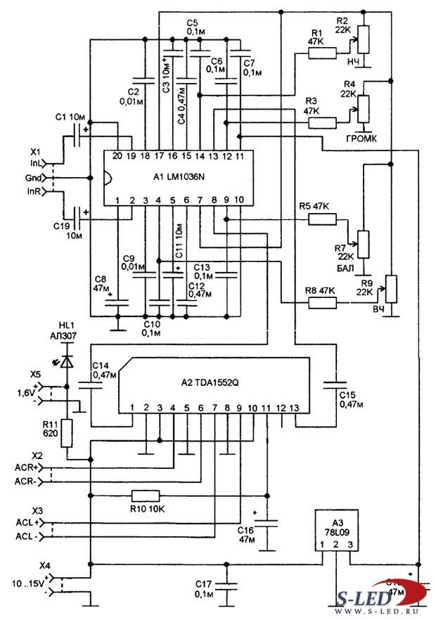 Mp3 плеера схема