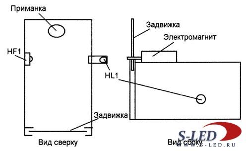 Схема электронной мышеловки