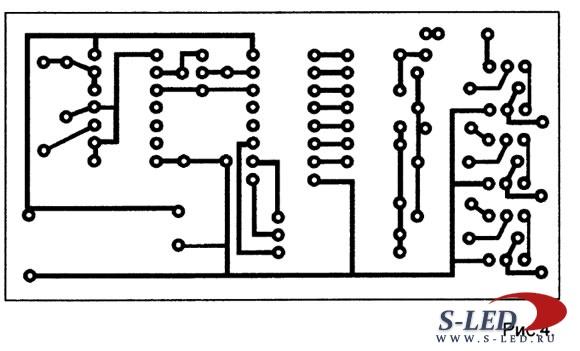 Схема электронного светофора