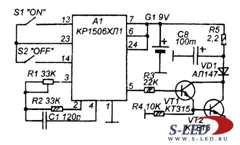 любитель радиоэлектроники схемы автозарядных устройств.