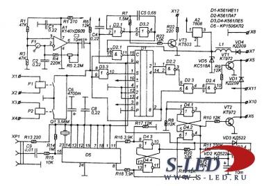 электрические схемы автомобилей обозначения