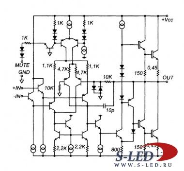 Мощный стерео - УМЗЧ LM4766