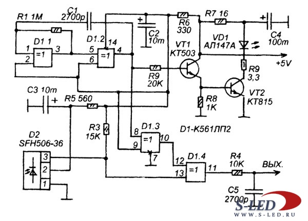 Датчики Движения Инфракрасные На Фотоэлементах Инструкция Схема Smt