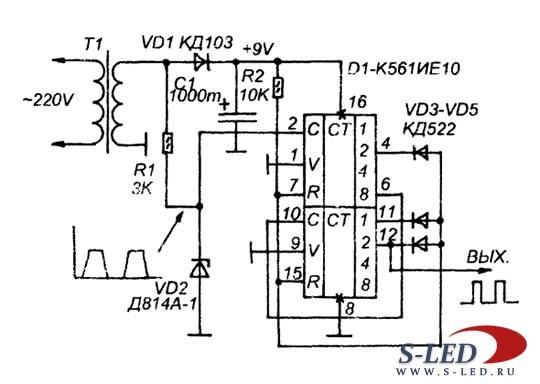 Стабильный генератор 1 Гц
