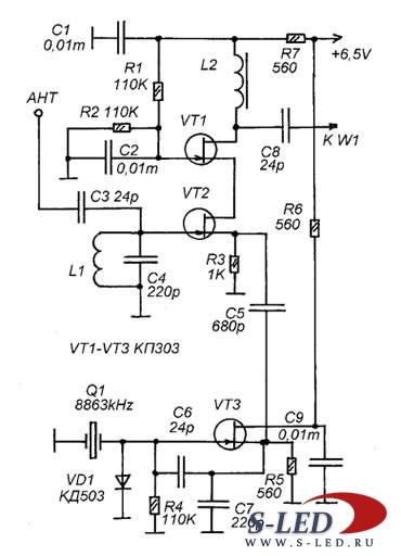 КВ-Модуль для приемника