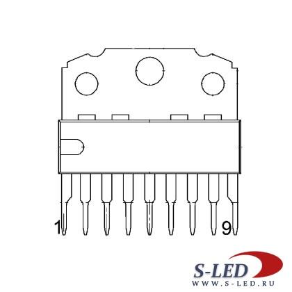 Микросхема TDA7056