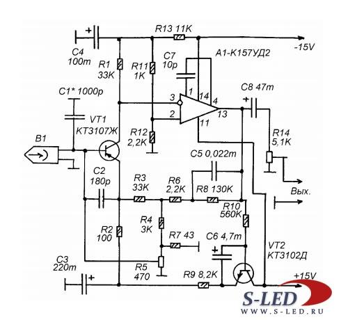 Схема усилителя для Hi-Fi