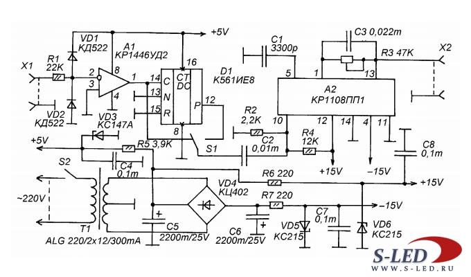 Мультиметр dt 832 схема принципиальная схемы сети