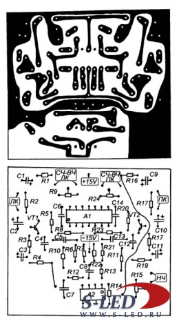 схемы активных фильтров сабвуферов - Всемирная схемотехника.