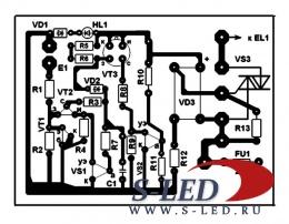 Схема печатной платы регулятора мощности фото 253