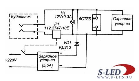 зарядное устройство кедр м схема