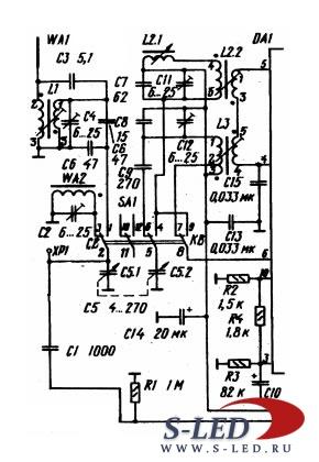 принципиальная схема приемника бзрп РП-312