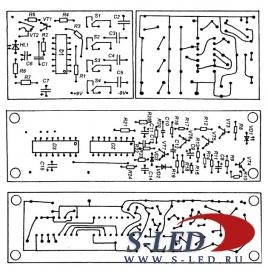 Схема дистанционного управления на ИК-лучах.