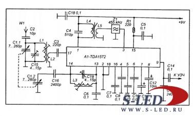...простых УКВ-ЧМ приемников, радиоприемный тракт которых построен по...