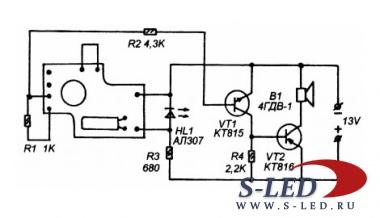 В данной схеме можно ли вместо дина включить выходной транс 10вт, чтобы получить генератор для поиска проводки.