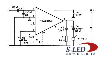 TDA2611A PDF