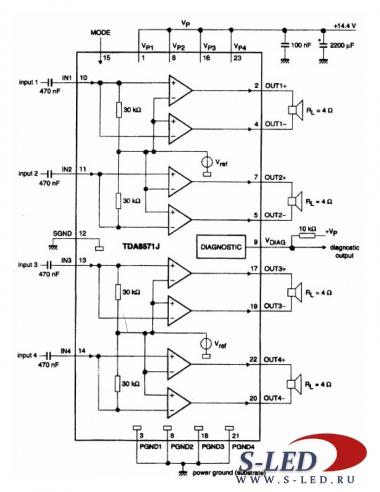 микросхема tda - Схемы.