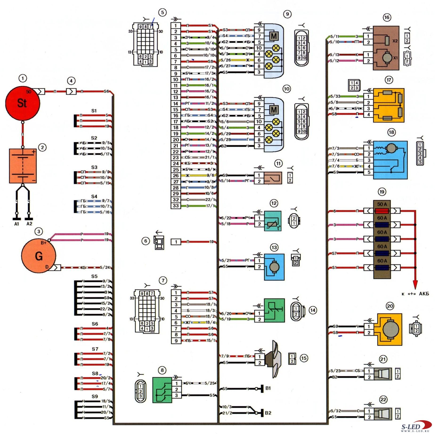индикатор бортовой сети авто схема простая