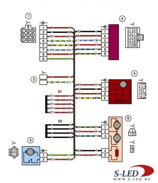 ...priora 2170 особенности системы управления двигателем автомобиля лада схема электрооборудования ваз 2170 приора.
