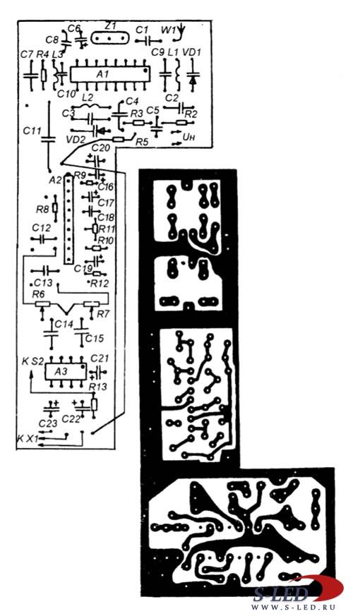 Схема электрическая принципиальная холодильника атлант