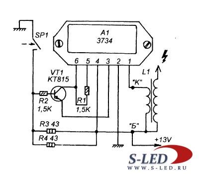 ...схем система зажигания распределитель зажигания катушка схема системы зажигания автомобилей ваз 2108 2109 21099 б...