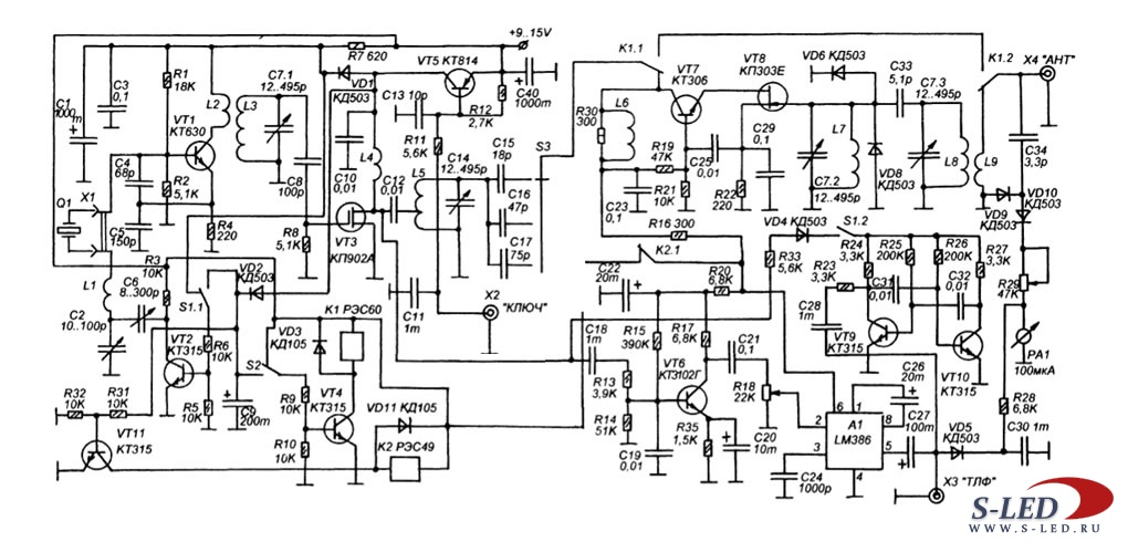 Шкала радиоприемника