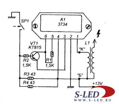 электрическая схема ваз 2106
